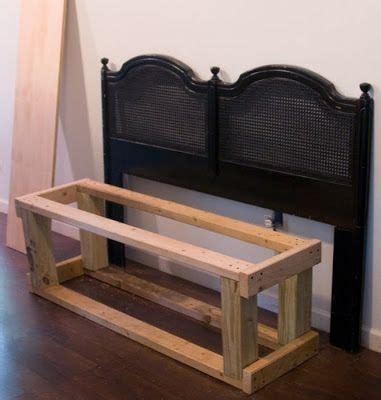 how to make a bench from a headboard how to make a bench from a headboard best 25 headboard