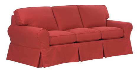 slipcovered sleeper sofa club furniture