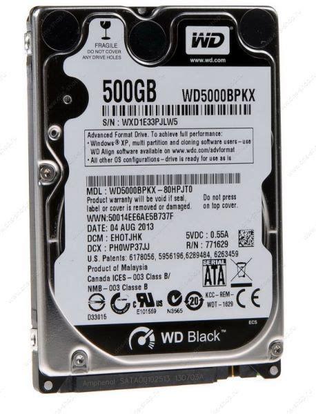 Hardisk Wd Black 500gb western digital black 2 5in 500gb sata iii