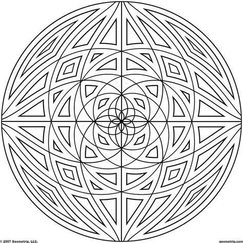 detailed mandala coloring pages for adults detailed coloring pages for adults geometrip free