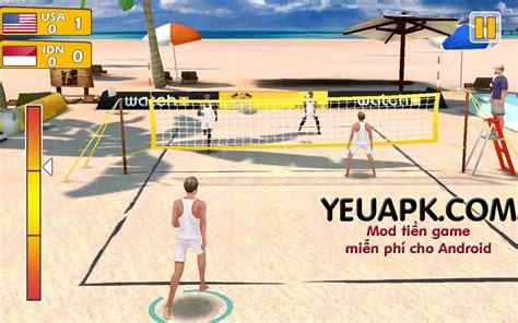 mod game volleyball beach volleyball 3d mod tiền game b 243 ng chuyền b 227 i biển