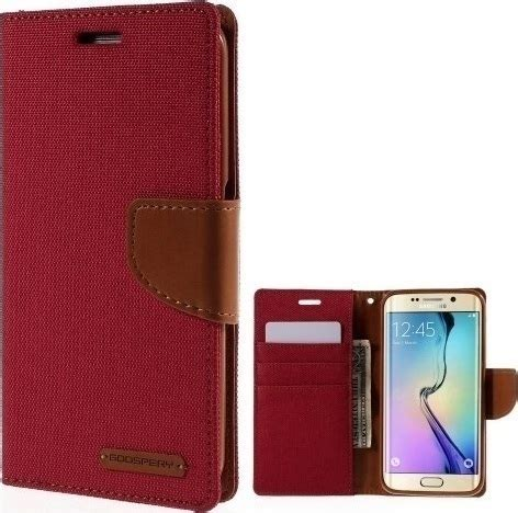 Xiaomi Redmi Note 4 Canvas Diary Goospery Cover Mercury Mi mercury canvas wallet κόκκινο galaxy s6 edge skroutz gr