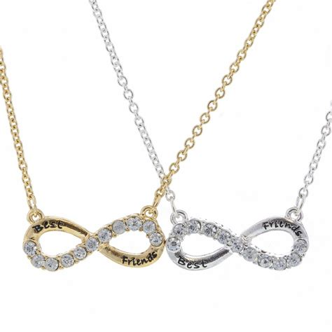 bff infinity necklaces the gallery for gt claires necklaces friendship