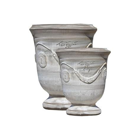 vase d anduze terre cuite c 233 rus 233 brun terre figui 232 re