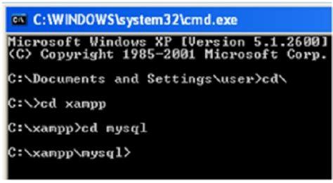 membuat database mysql menggunakan command prompt caturendang blogspot com membuat database mysql