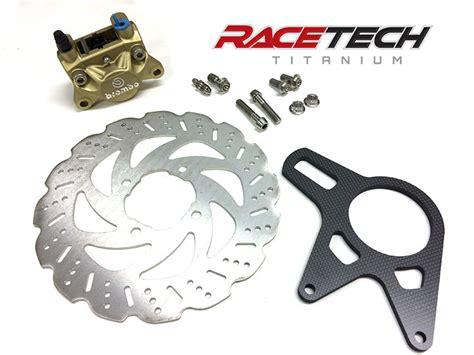 Breket Kaliper Brembo Drag custom parts racetech titanium premier store for titanium parts