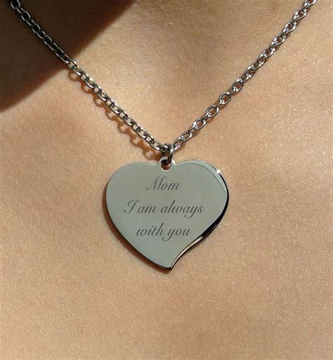 personalized engraved jewelry personalized silver teardrop necklace engraved gt engraved necklace