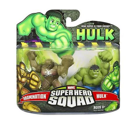 film marvel super hero squad abomination vs hulk super hero squad action figures