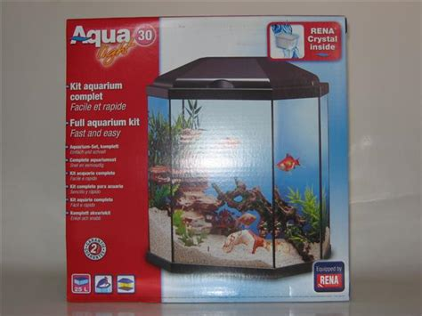 Aquarium L 25 Liter aquarium rena 30 light complete set hengelsport w