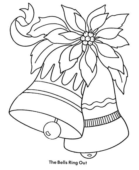 coloring page christmas bell christmas bells coloring pages coloring home