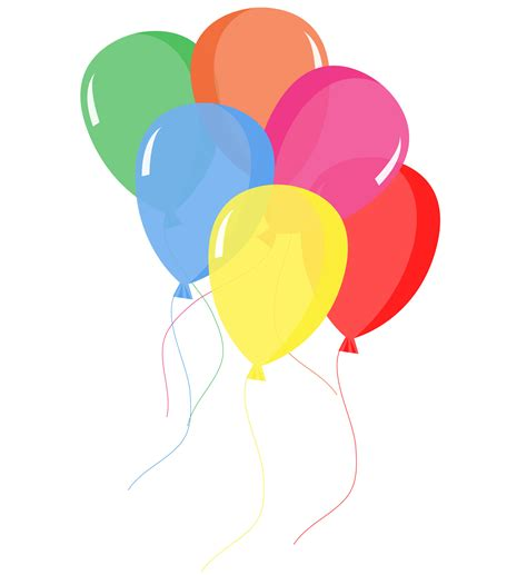 clipart palloncini balloons colorful free stock photo domain pictures