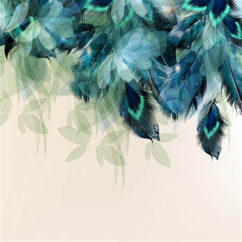 Flowercrown Mawar Klasik Royal Blue floral background design vector premium