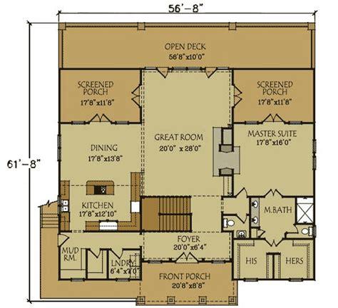 northwest floor plans stunning rustic home plan 92300mx 1st floor master