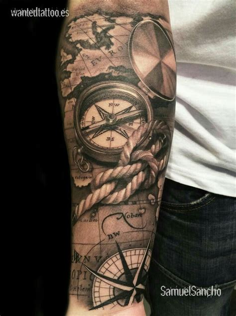 nautical map tattoo best 25 nautical tattoos ideas on pirate