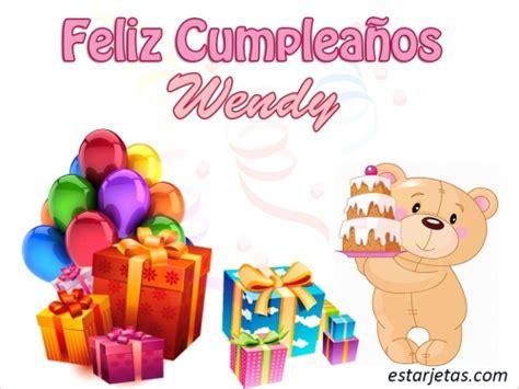 Imagenes De Feliz Cumpleaños Wendy | fel 237 z cumplea 241 os wendy im 225 genes de estarjetas com