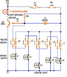 Brake Failure Indicator System 12v Dimmer Using A Potentiometer