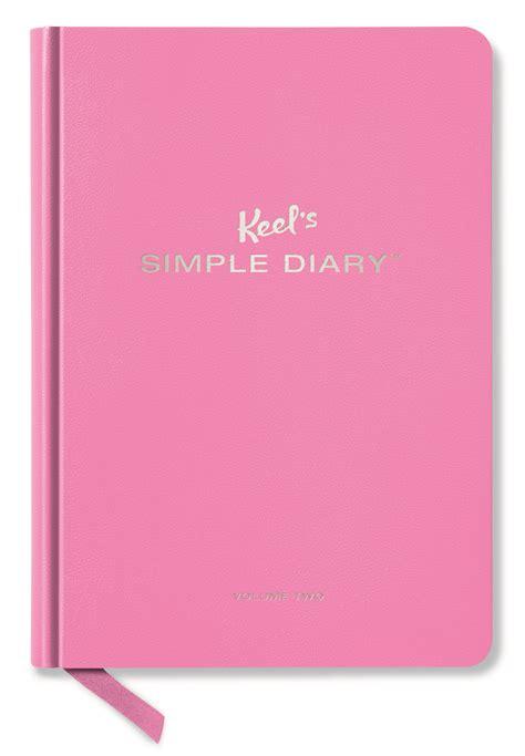 Dairy Pink keel s simple diary pink taschen