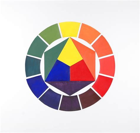 color wheel project 61 best painting images on