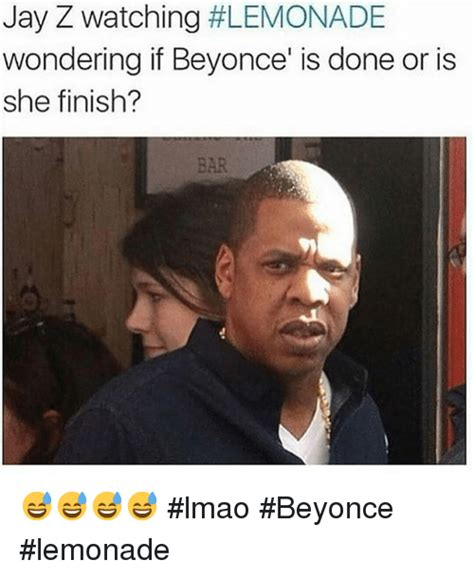 Jay Z Meme Beyonce - jay z watching lemonade wondering if beyonce is done or