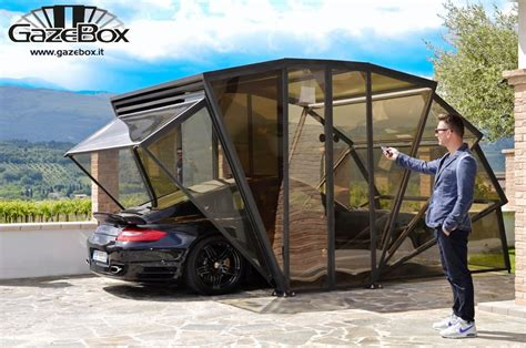 car gazebo a gazebo for your car the gazebox keeps your four wheeled