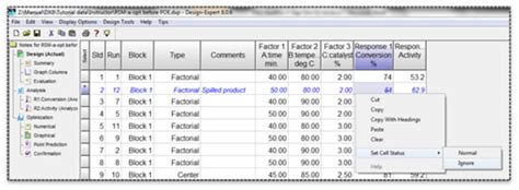design expert anova interpretation stat ease the doe faq alert vol 11 no 1