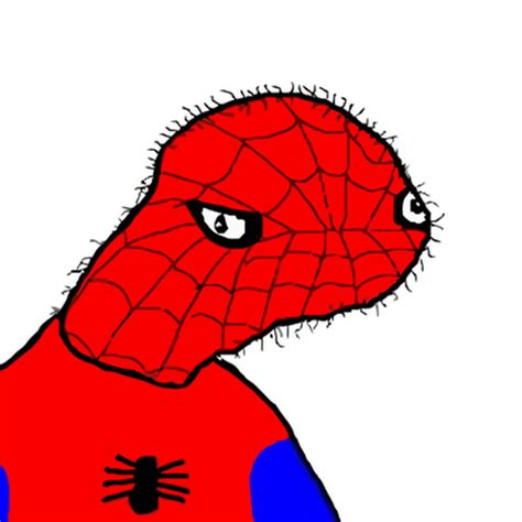 spoderman template spodermen