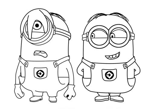 imagenes de minions morados para dibujar free the dog in the minion coloring pages