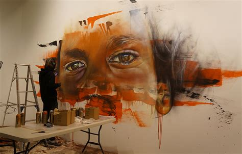 painting on wall wall to wall painting benalla s streets abc news