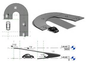 parking garage ramp design car park ramps desigs google search section drawing