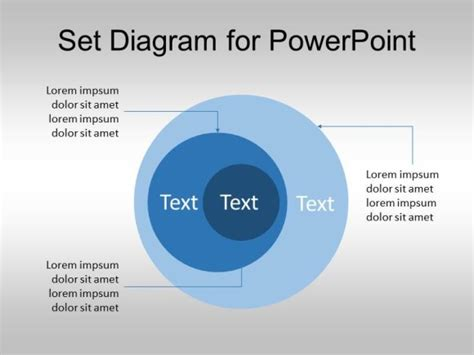 templates diagram ppt free set diagram for powerpoint venn diagram template