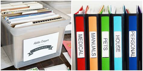 to organize how to organize your papers home paperwork organization