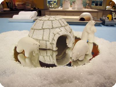 How To Make Igloo With Paper - lemmemakeit make paper clay polar bears igloo