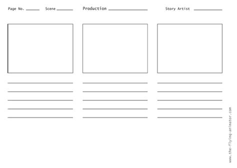 storyboard panels template storyboard template