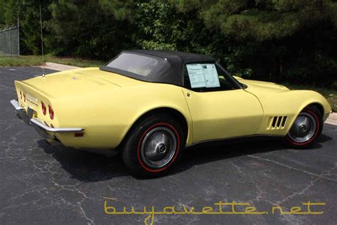 1968 corvette 427 390hp convertible for sale at buyavette