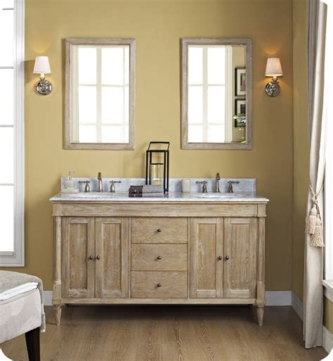 modern rustic bathroom vanity fairmont designs 142 v6021d rustic chic 60 quot modern bathroom vanity double bowl