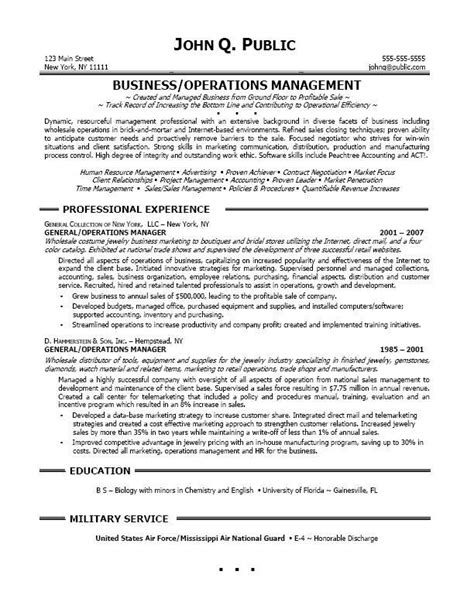 Airport Operations Specialist Sle Resume by Sle Resume Operations Manager 28 Images Plant Manager Resume Exles Mind Mapping Hr Business
