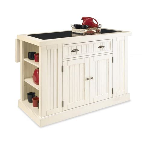 home styles nantucket kitchen island in distressed white nantucket kitchen island distressed white finish homestyles