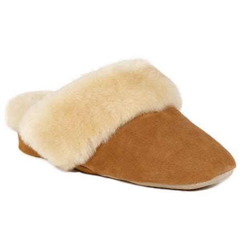 sheepskin slippers countess sheepskin slippers just sheepskin