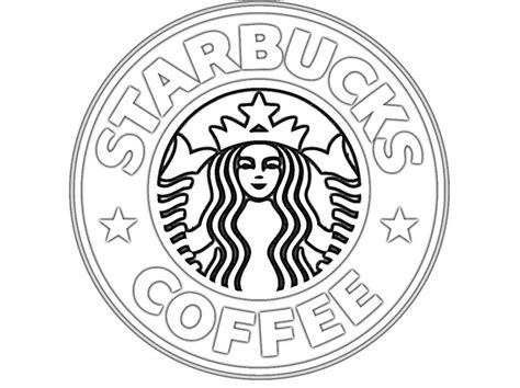 coloring page of starbucks starbucks coffe colouring pages