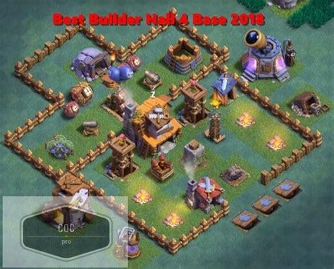 layout coc 4 best clash of clans bh 4 base designs latest builder