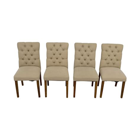 Threshold Tufted Dining Chair 67 Target Target Brookline Threshold Tufted Dining Chairs Chairs