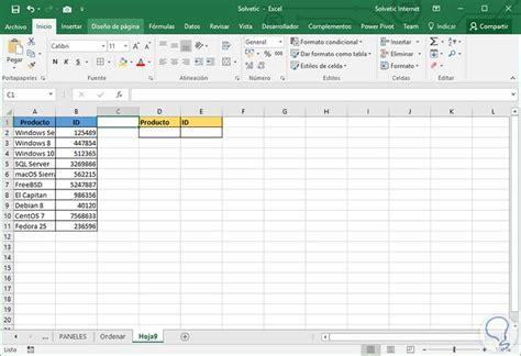 tutorial de vlookup c 243 mo ordenar y buscar datos vlookup y buscarv excel 2016
