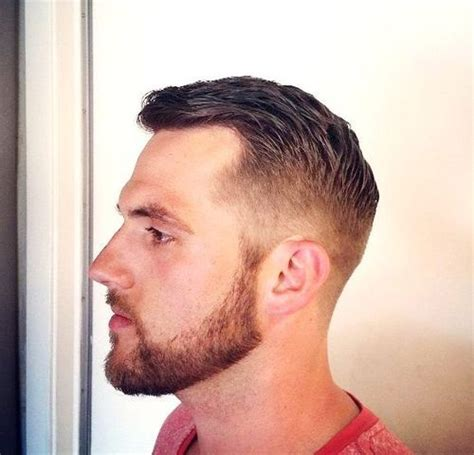men taper on the sides with beard 40 superb comb over hairstyles for men