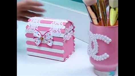 cara membuat kerajinan wadah tisu cara kreatif membuat kotak perhiasan kerajinan tangan