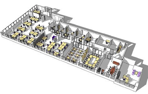 architect office plan layout design planning office furniture centre
