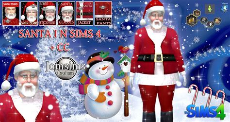 Christmas SANTA SIMS 4   CC   Sims 4 Updates  ?  Sims 4 Finds & Sims 4 Must Haves  ?  Free Sims
