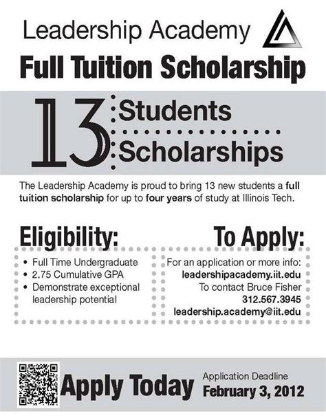 Usfca Mba Scholarships by Tuition Undergraduate Scholarships From Iit