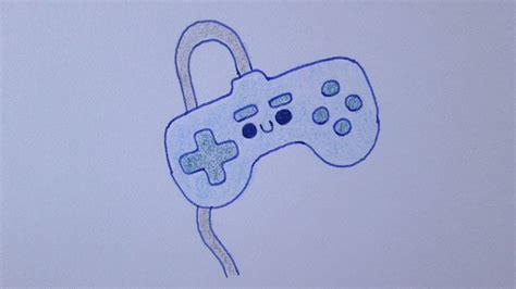 imagenes kawaii de videojuegos c 243 mo dibujar un controlador de videojuego kawaii youtube