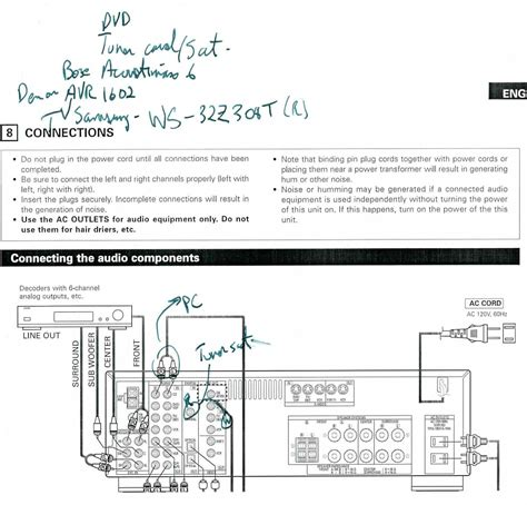 bose acoustimass 10 wiring diagram electric foil wiring