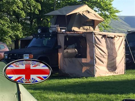 side awning for 4x4 4x4 land rover side awning ground tent combo www fourby
